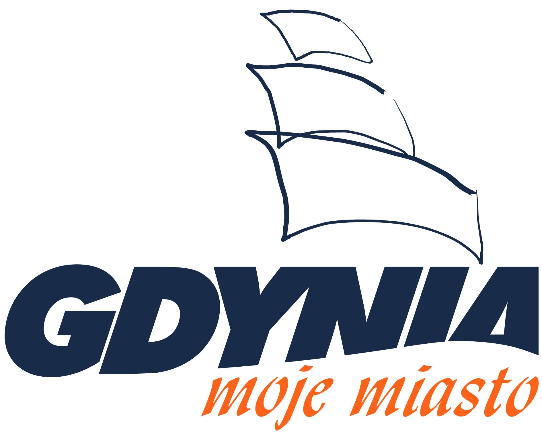 Logotyp Gdynia moje miasto