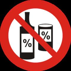 zakaz napojów alkoholowych